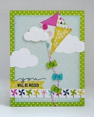 An Echo Park Splendid Sunshine Card by Mendi Yoshikawa
