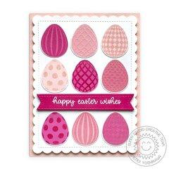 Sunny Studio Eggs To Dye For Card by Mendi Yoshikawa