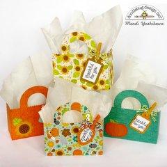 Doodlebug Flea Market Thankful For You Treat Bags by Mendi Yoshikawa