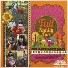 A Doodlebug Friendly Forest Fall Layout by Mendi Yoshikawa