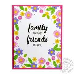 Sunny Studio Stamps Friends & Family Card by Mendi Yoshikawa