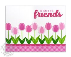 Sunny Studio Stamps Friends & Family Card by Mendi Yoshikawa
