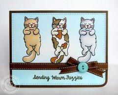 Sunny Studio Furever Friends Card by Mendi Yoshikawa