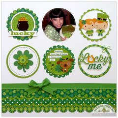 A Doodlebug Happy-Go-Lucky Layout by Mendi Yoshikawa