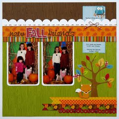 A Doodlebug Happy Harvest Layout by Mendi Yoshikawa