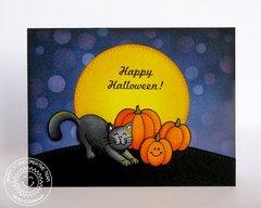 Sunny Studio Harvest Happiness Card by Mendi Yoshikawa