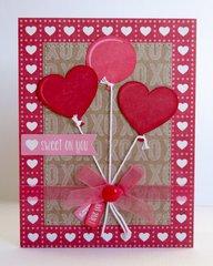 A Jillibean Soup Valentine's Day Card by Mendi Yoshikawa