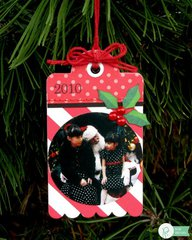 Pebbles Home For Christmas Gift Tags by Mendi Yoshikawa