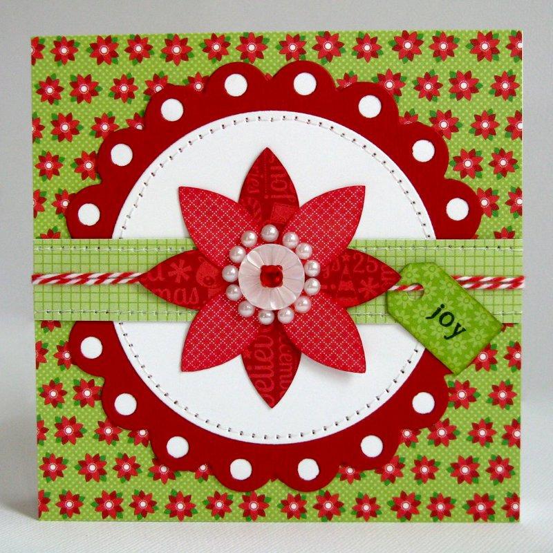 Doodlebug Home For The Holidays Card by Mendi Yoshikawa