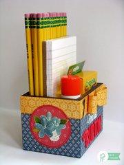 Pebbles Inc. HomeGrown Teacher's Gift Box by Mendi Yoshikawa