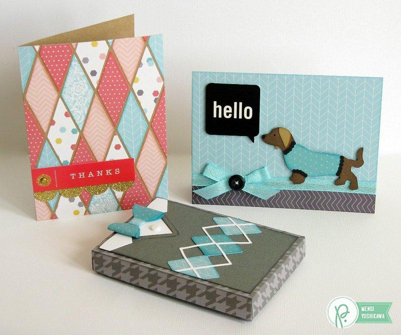 A Pebbles Inc. Home+Made Card Set by Mendi Yoshikawa