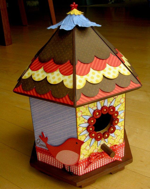 A My Mind's Eye Bird House by Mendi Yoshikawa