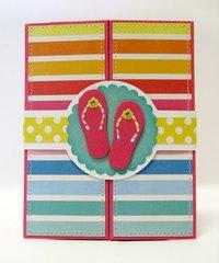 Echo Park I Love Sunshine Box Card by Mendi Yoshikawa