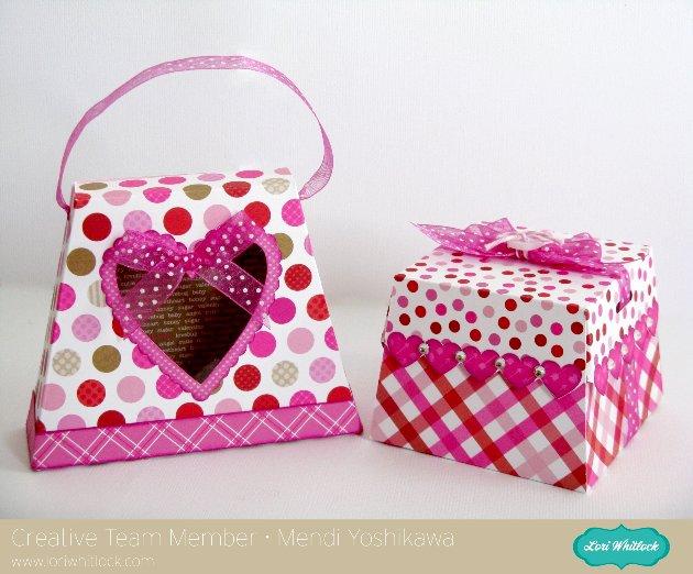 Doodlebug Valentine's Day Treat Box by Mendi Yoshikawa