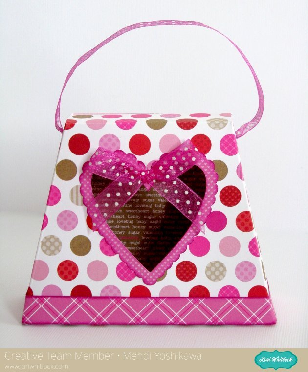 Doodlebug Valentine's Day Treat Box by Mendi Yoshikawa