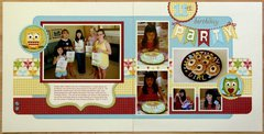 Jillibean Homemade 6 Bean Soup Birthday Layout by Mendi Yoshikawa