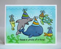 A Lawn Fawn Birthday Card by Mendi Yoshikawa
