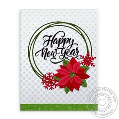 Sunny Studio Stamps Holiday Christmas Card by Mendi Yoshikawa
