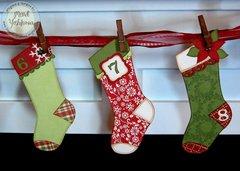 Echo Park This and That Christmas Advent Calendar by Mendi Yoshikawa