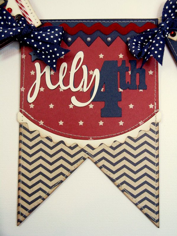 A Pebbles Let Freedom Ring 4th of July Banner
