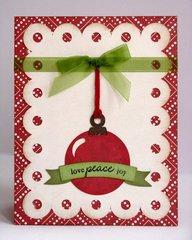 Echo Park Reflections Christmas Cards by Mendi Yoshikawa