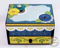 Echo Park For the Record 2 Jewelry Box by Mendi Yoshikawa
