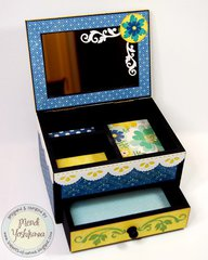 An Echo Park For the Record 2 Jewelry Box