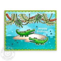 Sunny Studio Outback Critters Card by Mendi Yoshikawa