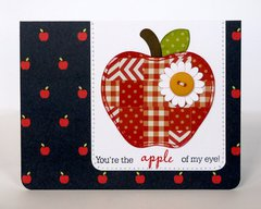 Pebbles Inc. Apple Themed Cards By Mendi Yoshikawa
