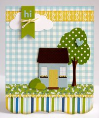 A Pebble Inc. Family Ties Home Card by Mendi Yoshikawa