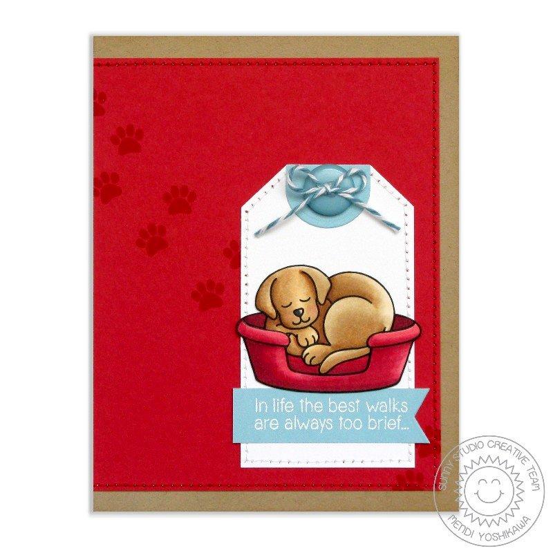 Sunny Studio Stamps Pet Sympathy Card by Mendi Yoshikawa