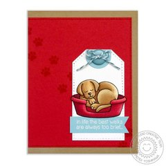Sunny Studio Stamps Pet Sympathy Card by Mendi Yoshikawa