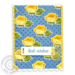 Sunny Studio Stamps Potted Rose Card by Mendi Yoshikawa