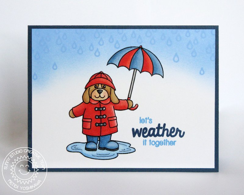 Sunny Studio Rain or Shine Card by Mendi Yoshikawa