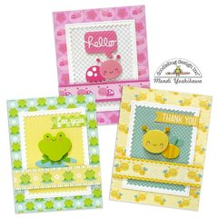Doodlebug Spring Things Card Set by Mendi Yoshikawa
