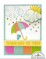 Doodlebug Spring Things Card by Mendi Yoshikawa