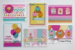 Doodlebug Sugar Shoppe Birthday Cards-Challenge