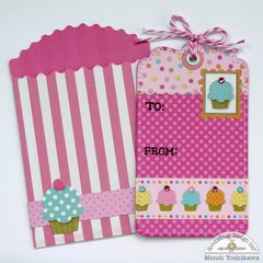 Doodlebug Sugar Shoppe Gift Tags by Mendi Yoshikawa