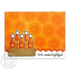 Sunny Studio Summer Sweets Card by Mendi Yoshikawa