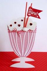 Doodlebug Sweethearts Valentines Card by Mendi Yoshikawa