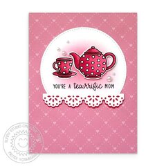 Sunny Studio Tea-riffic Card by Mendi Yoshikawa