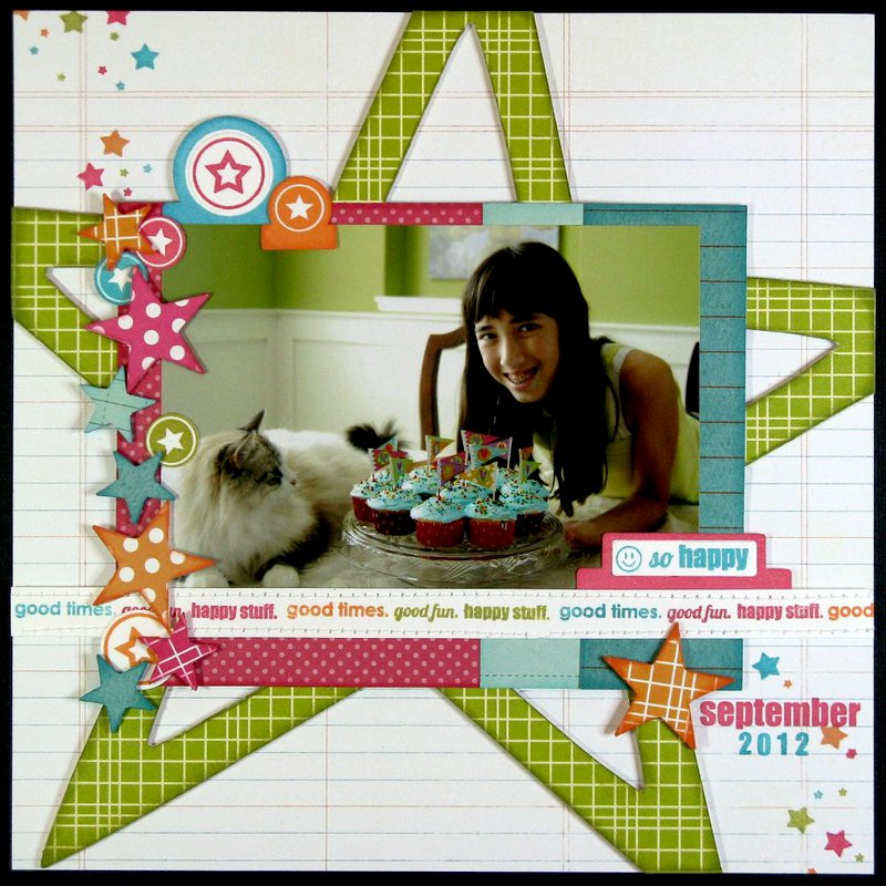 Technique Tuesday Noted Star Layout by Mendi Yoshikawa