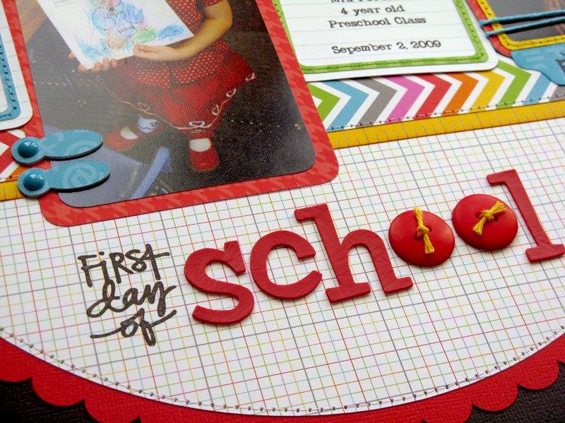 A Technique Tuesday School Layout by Mendi Yoshikawa