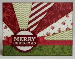 A Teresa Collins Christmas Cottage Card by Mendi Yoshikawa