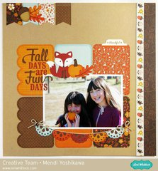 Echo Park The Story of Fall Layout by Mendi Yoshikawa
