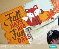 Echo Park The Story of Fall Layout by Mendi Yoshikawa