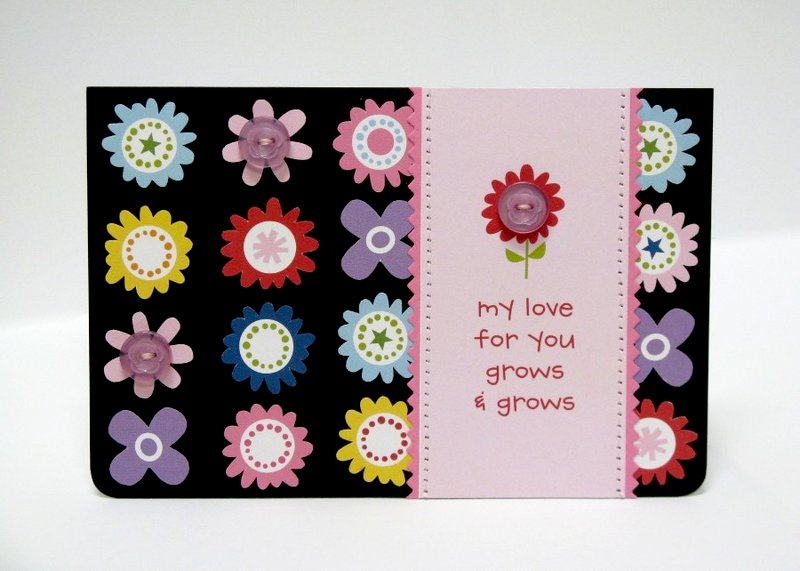 Bella Blvd Tiny Tots Love Grows Card by Mendi Yoshikawa