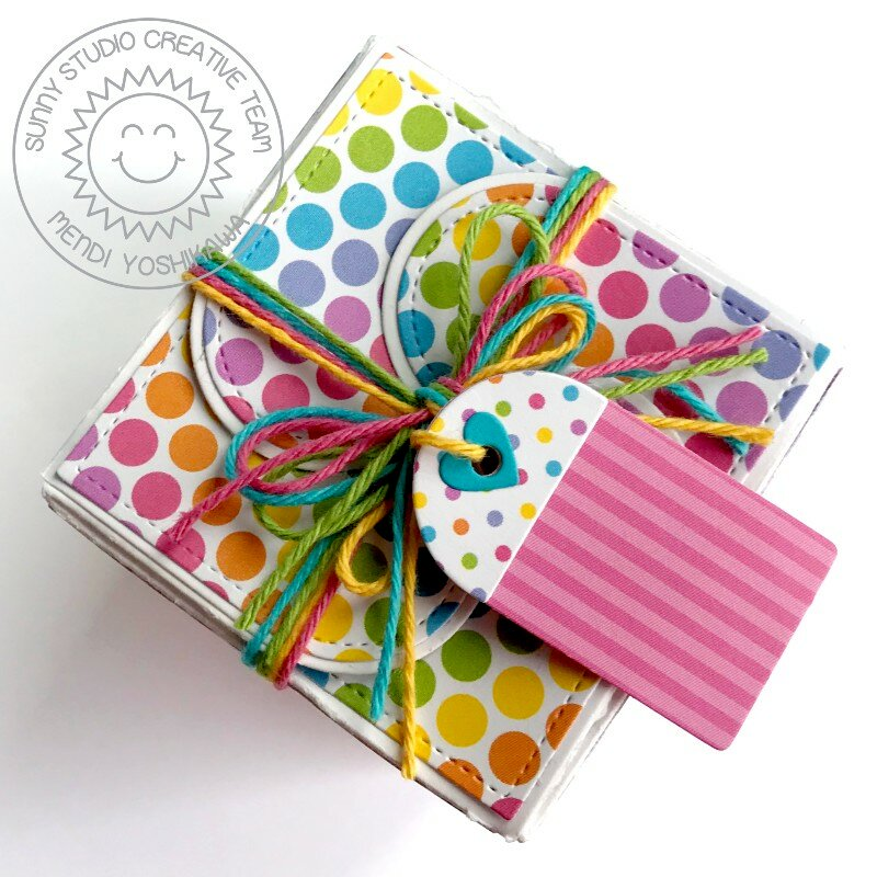 Sunny Studio Wrap Around Gift Box by Mendi Yoshikawa