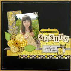 An Authentique Blissful Layout by Mendi Yoshikawa