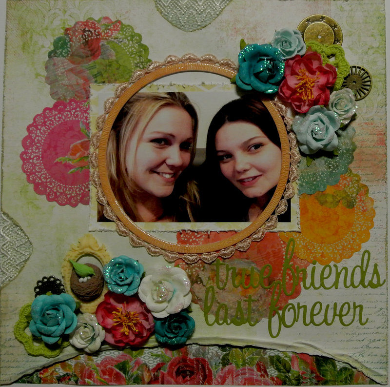 my creative scrapbook march limited edition kit